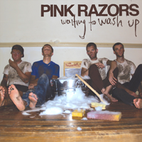 PINK RAZORS Waiting to Wash Up CD